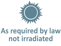 Not irradiated