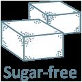 Free of sugar