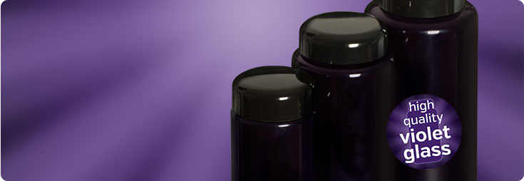 Products in Violet Glass