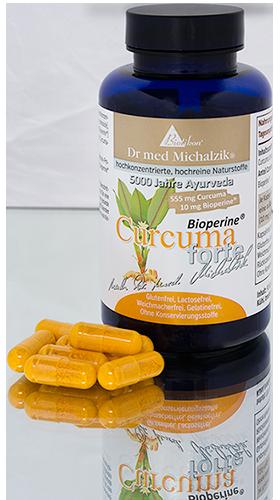 Curcuma tin with capsules