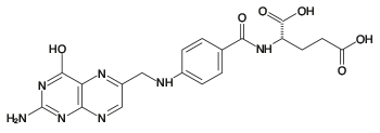 folic acid structural formula